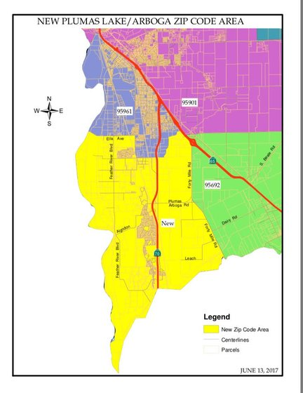 Plumas Lake Could Get Its Own Zip Code Action News Now - Us postal zone map